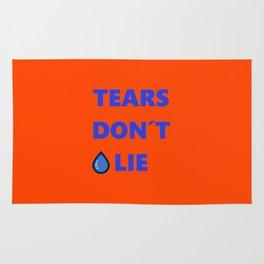 Tears Don't Lie Rug