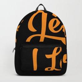 I Love Jesus and Naps Backpack
