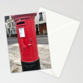 London post office box Stationery Cards