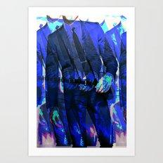 sharp Art Print