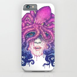 Dark Queen of The Deep Sea iPhone Case