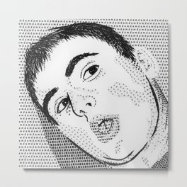 D.A.M. Metal Print