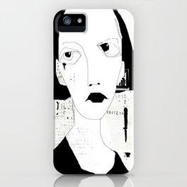 « portrait » iPhone Case