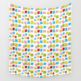 rectangle and abstraction 3-mutlicolor,abstraction,abstract,fun,rectangle,square,rectangled,geometri Wall Tapestry