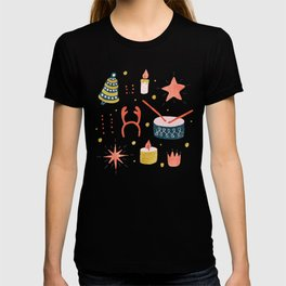 Christmas Card with Toys T-shirt