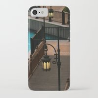 arab iPhone & iPod Cases featuring Dubai Burj Al Arab Walkway by gdesai