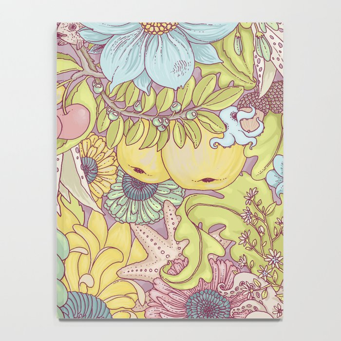 the wild side - summer tones Notebook