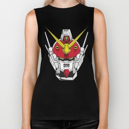 Heavyarms Gundam Wing Biker Tank