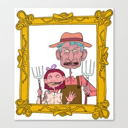 FARM GUYS  Canvas Print
