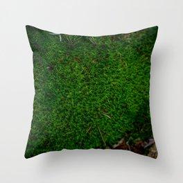 Bossy Mossy Throw Pillow