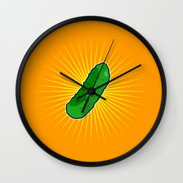 Pickle Cornichon Wall Clock