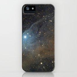 Blue Horsehead Nebula. iPhone Case