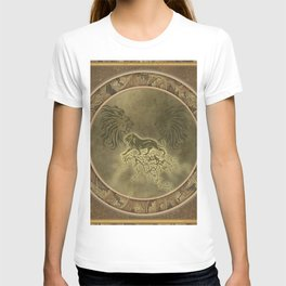 Wonderful lion silhouette T-shirt