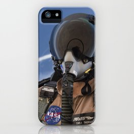 123. Photographer Carla Thomas on a Supersonic Flight iPhone Case