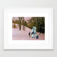 inuyasha Framed Art Prints featuring Sesshomaru, Rin and Jaken (Burnsville NC) (Inuyasha) by Jackobi Austin
