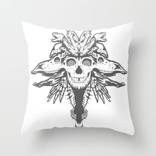 GOD III Throw Pillow