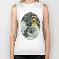 chef Biker Tanks featuring Head Chef by Peter Campbell