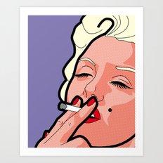 Pop Icons - Marilyn Art Print