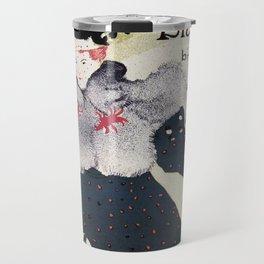La Revue Blanche Toulouse Lautrec Travel Mug