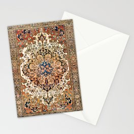Ferahan Arak  Antique West Persian Rug Print Stationery Cards