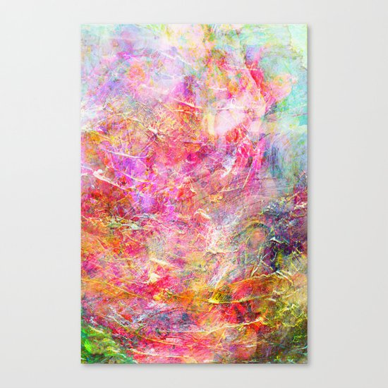 Serenity Abstract Painting Canvas Print