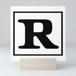 Rated R Mini Art Print