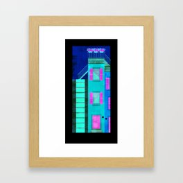 Genova tutta scale Framed Art Print