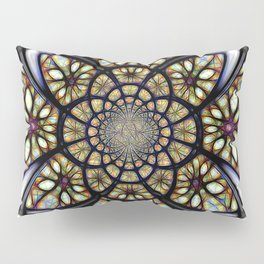 The Art Of Stain Glass Pillow Sham