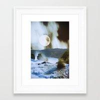 fog Framed Art Prints featuring Fog by John Turck