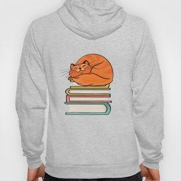 With Books And Cats Life Is Sweet Hoody