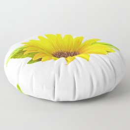 Sunshine On A Cloudy Day Floor Pillow