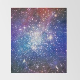 Shining stars Throw Blanket