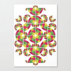 Vivid Dreams Pattern Canvas Print