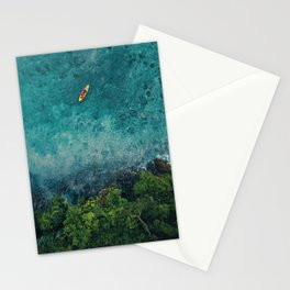 Kayaking in The Philippines  Stationery Cards