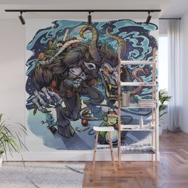 Krampus Wall Mural