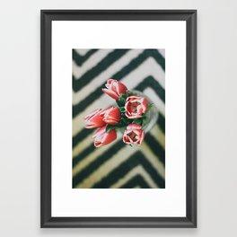 It's Always Flowers Framed Art Print
