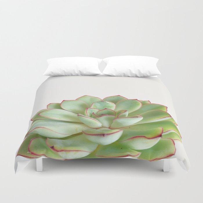 Green Succulent Bettbezug