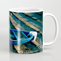 boats Mugs featuring Boats by jdshock