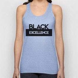 Mellontikós Black Excellence Unisex Tank Top