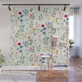 Spring Botanicals Wall Mural