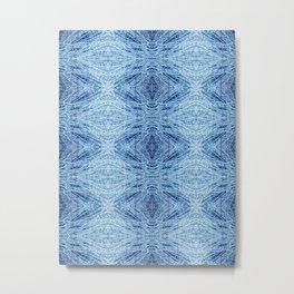 Blue Birch Metal Print