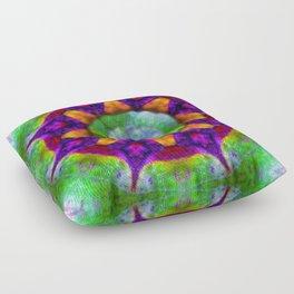 Cosmic plane Floor Pillow