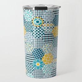 Spanish Tiles of the Alhambra Travel Mug