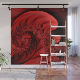 burning red -3- Wall Mural