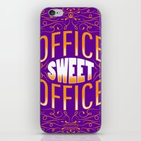 office iPhone & iPod Skins featuring Office Sweet Office by Roberlan Borges