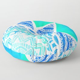 Turquoise Dream Floor Pillow