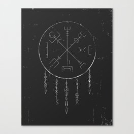 Rune Dreaming Canvas Print