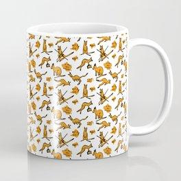 Funny kangaroos Coffee Mug