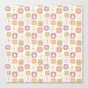 Abstract geometric pattern in pastel colors by fuzzyfox85