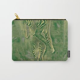 5360s-MAK Naked Motherboard Fine Art Nude Wired Woman Carry-All Pouch
